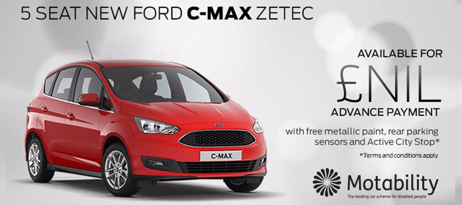 Ford C-Max Motability offers at Kerr Baillie